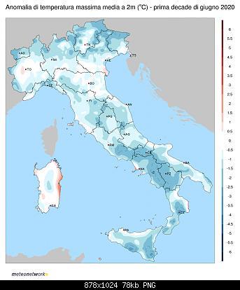 Luglio 2020: anomalie termiche e pluviometriche-tmax_anom_2020-06-1dec.jpg