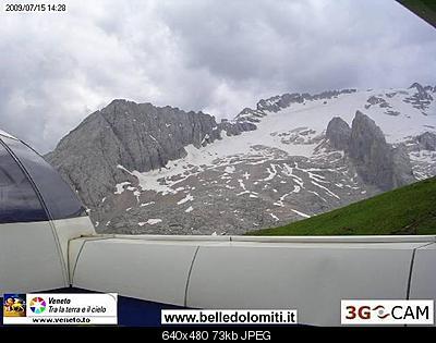 Il calo del ghiacciaio della Marmolada-marmo-2009.jpg