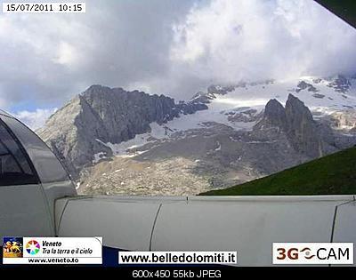 Il calo del ghiacciaio della Marmolada-marmo-2011.jpg