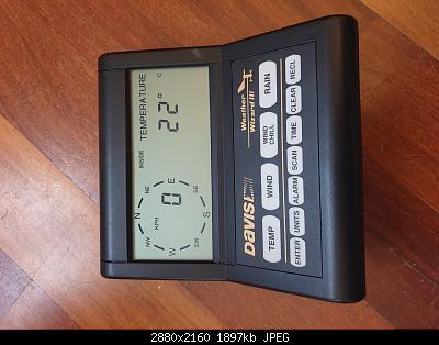 Vendo stazione meteo Davis Wizard III #7425 con datalogger-20201113_111529.jpg
