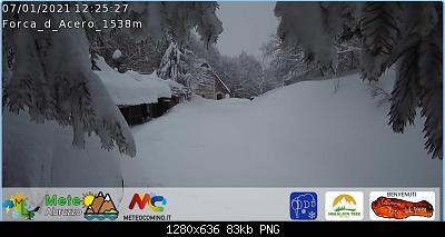 (S)nowcasting Appennino centrale (Lazio - Abruzzo - Umbria - Marche), inverno 2020/2021.-forca_acero.jpg