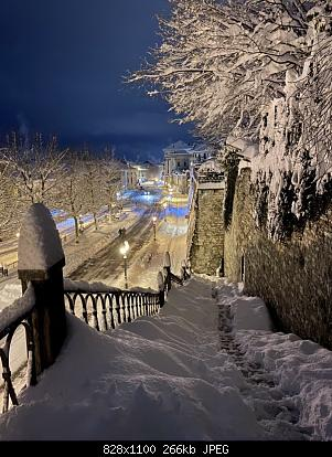 Feltre (BL): nevicata dicembre 2020-mura.jpg