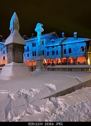 Feltre (BL): nevicata dicembre 2020-piazza-maggiore.jpg