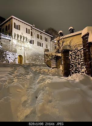Feltre (BL): nevicata dicembre 2020-porta-pusterla.jpg