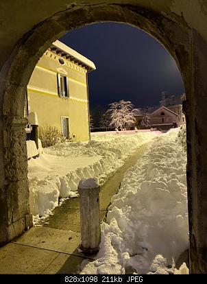 Feltre (BL): nevicata dicembre 2020-piazza-duomo.jpg