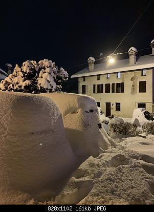 Feltre (BL): nevicata dicembre 2020-macchina.jpg
