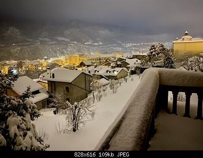 Feltre (BL): nevicata dicembre 2020-casa.jpg