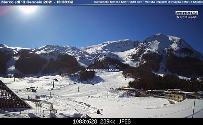 (S)nowcasting Appennino centrale (Lazio - Abruzzo - Umbria - Marche), inverno 2020/2021.-13-genn-camp.jpg