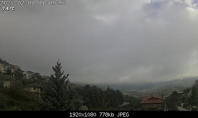 Campania - Febbraio 2021, ancora Atlantico dopo una tregua dalle piogge?-webcamcampoli.jpg