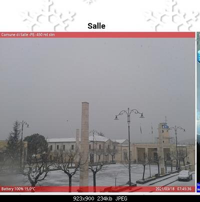 (S)nowcasting Appennino centrale (Lazio - Abruzzo - Umbria - Marche), inverno 2020/2021.-img_20210318_074456.jpg