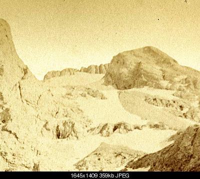 Ghiacciaio del Calderone in agonia-calderone-1871.jpg